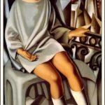 Tamara de Lempicka- Kizette sul balcone