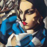 Tamara de Lempicka- La sciarpa blu