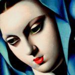 Tamara di Lempicka - Vergine Blu