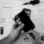 A. Sauvage- pantaloni con ricarica wirless integrata