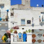 Immagini dalla Puglia: il pumo sui balconi