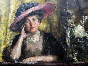 Antonio Mancini - Lady Florence Phillips 1908 Johannesburg Art Gallery, Johannesburg