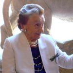 Micol Fontana festeggiata in Campidoglio per i suoi 90 anni