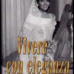 """Micol Fontana Copertina di """"Vivere con eleganza"""""""