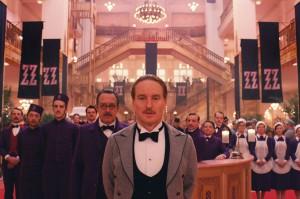 L'ingresso del Grand Budapest Hotel
