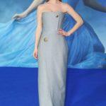 Lily James in Balenciaga