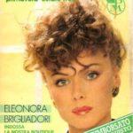 Eleonora Brigliadori su Postalmarket courtesy ANSA