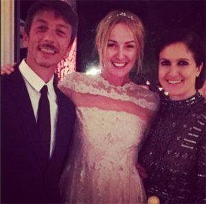 Frida Giannini con Maria Grazia Chiuri e Pierpaolo Piccioli