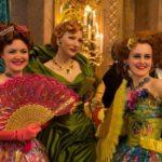 Lady Tramaine e figlie al ballo