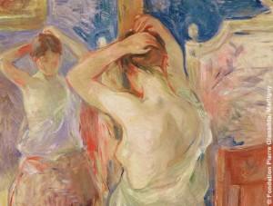 La toilette, naissance de l'intime. Musee Marmottan Mone – Berthe Morisot – 1890