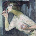 La toilette, naissance de l'intime. Musee Marmottan Monet-František Kupka, Le rouge à lèvres, 1908