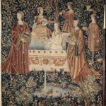 La toilette, naissance de l'intime. Musee Marmottan Monet Pays-Bas du Sud, Le Bain, tenture de la vie seigneuriale, 1500,