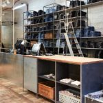 Il Nudie Jeans repair store a Shoreditch