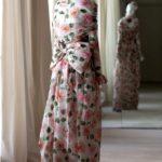 Giardini d seta - Yves Saint Laurent-Haute Couture