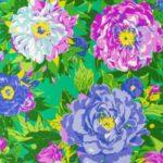 Giardini di seta - Foulard Sir Peter 1983 Disegno di Ken Scott
