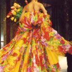 Giardini di seta -, G. Ferré per Christian Dior Couture PE 1992