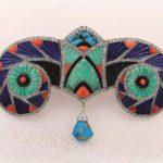 Lapislazzuli Magia Blu -Boucheron- Devant de corsage