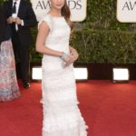 Alicia Vikander in Chanel Couture ai Golden Globes nel 2013