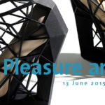 """Locandina Mostra """"Shoes pleasure and pain"""" V&A Museum"""
