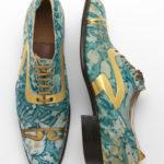 """Shoes: pleasure and pain"" V&A Museum Scarpe Maschili 1925 courtesy V&A Museum"