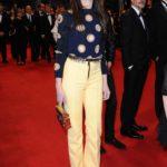 Charlotte Gainsbourg in Louis Vuitton al Festival del Cinema di Cannes nel 2014