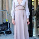 Shailene Woodley In Miu Miu - Miu Miu Spring 2015 Front Row