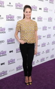 Shailene Woodley In Christopher Kane - 2012 Independent Spirit Awards