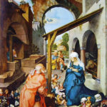 Durer - Altare di Paumgartner- la Natività