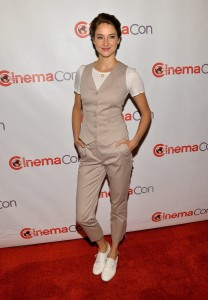 Shailene Woodley In Dolce & Gabbana - CinemaCon 2014: 20th Century Fox Special Presentation