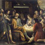 Giuseppe Vermiglio - Natività e adorazione dei pastori