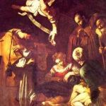 Caravaggio-La Natività (trafugata)