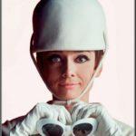 Audrey Hepburn in Courrèges