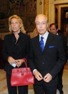 Renato Balestra e la figlia Fabiana Balestra