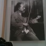 Einstein al violino