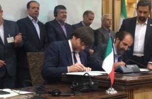 Firma degli accordi tra SMI e TGU