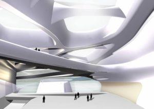 Zaha Hadid-Guggenheim Museum di Taiwan