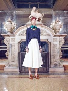 Rossella Jardini A/I 2016-17 foto da Lookbook