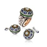 Alessio Boschi-The Qajar Ring and Cufflinks