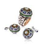 Alessio Boschi-The Qajar Ring and Cufflinks