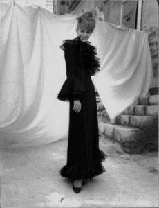 Catherine Spaak in abito di Federico Forquet- 1966