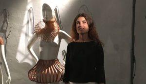 Maria Sole Ferragamo ad Altaroma luglio2016