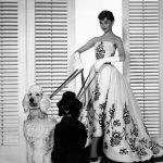 """Hubert de Givenchy, Audrey Hepburn """"Sabrina"""" 1954"""