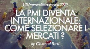 """Cover di """"La PMI diventa internazionale"""""""