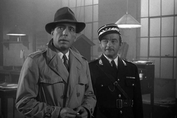 "Humphrey Bogart in ""Casablanca"""