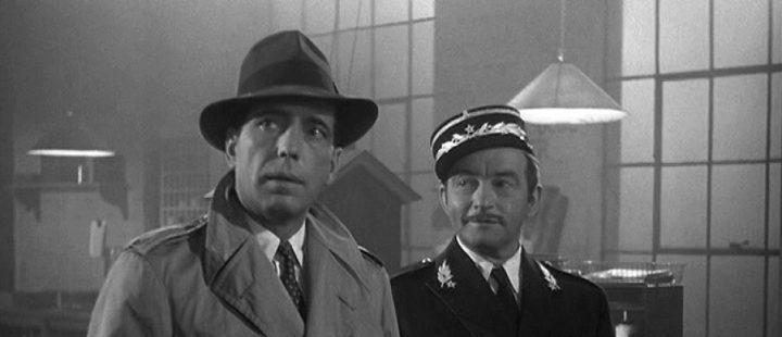 "Humphrey Bogart in ""Casablanca"""