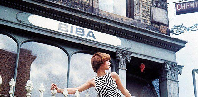 La boutique Biba a Londra