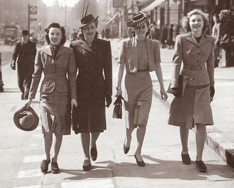Favorito IMORE - Gli anni 40': la moda razionata UQ84