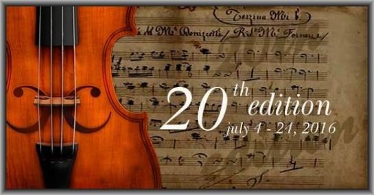 """""""The Casalmaggiore International Music Festival"""" 2016"""