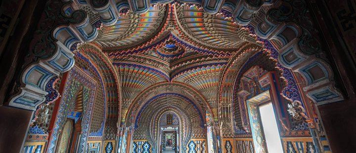 Il Castello di Sammezzano-Sala dei pavoni