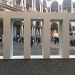 Il cortile della Pinacoteca di Brera ph S. e M. Bersani